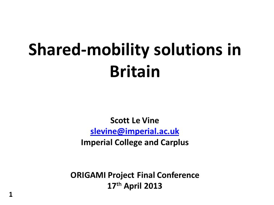 2 What is shared-mobility.