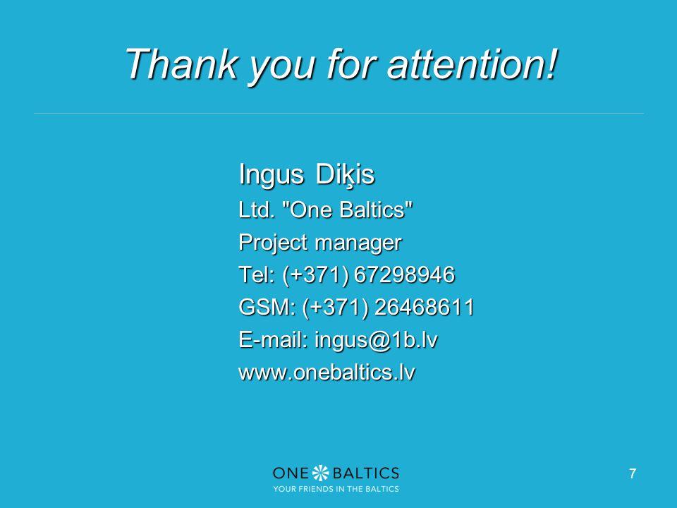 7 Ingus Diķis Ltd.