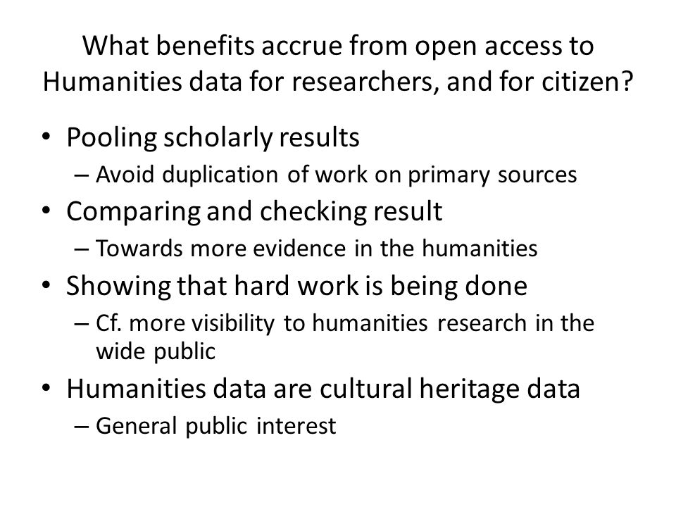 If this data is made available online for free, who is funding this free access.