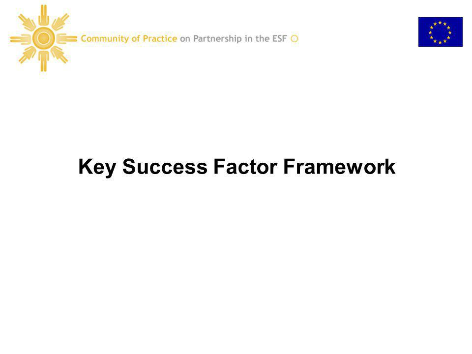 Key Success Factor Framework