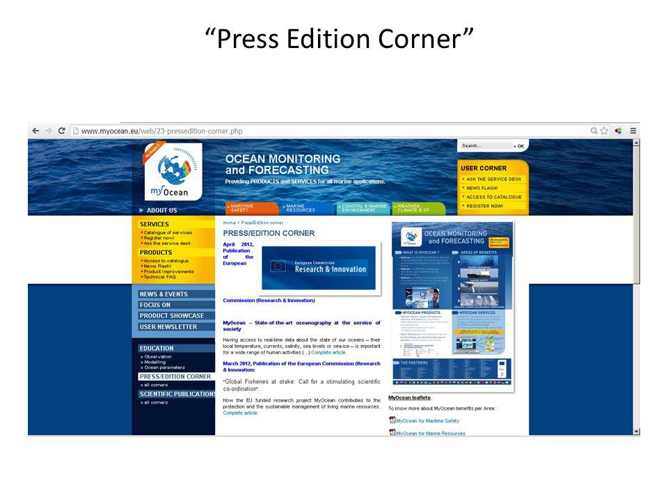 Press Edition Corner
