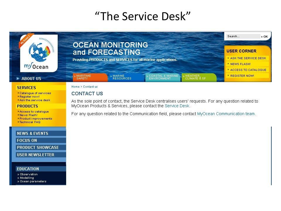 The Service Desk