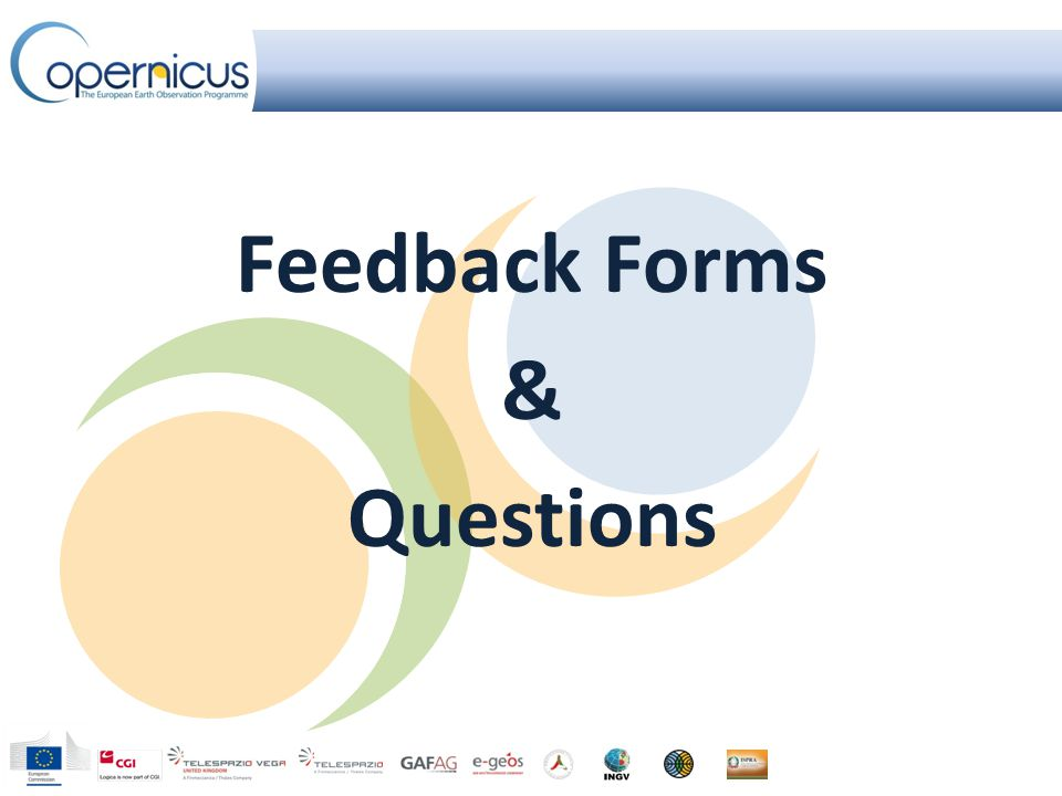 Feedback Forms & Questions