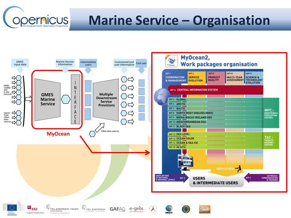 Marine Service – Organisation