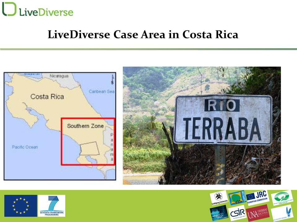 LiveDiverse Case Area in Costa Rica