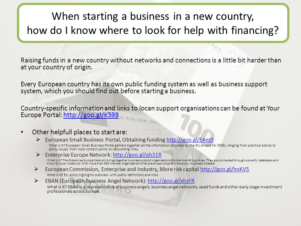 Raising funds in a new country without networks and connections is a little bit harder than at your country of origin.