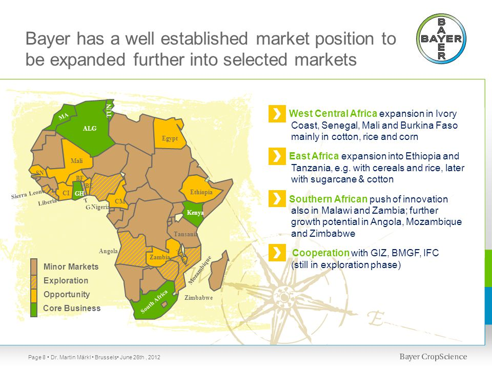 Page 9 Metrics (selection) Market driver Dr. Martin Märkl Brussels June 26th, 2012