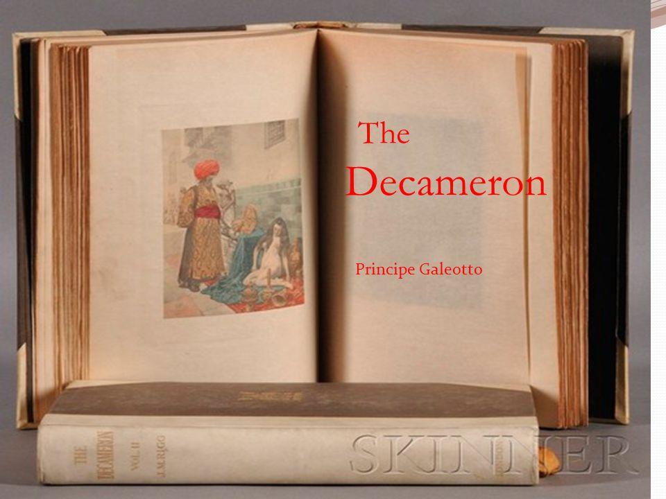 The Decameron Principe Galeotto