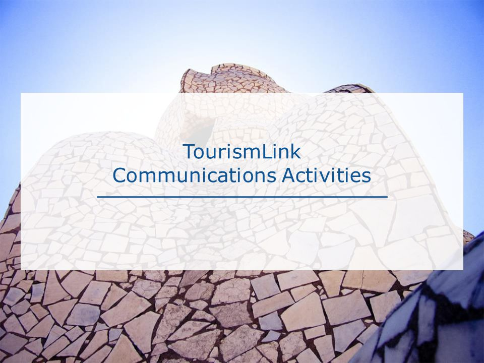 TourismLink Communications Activities