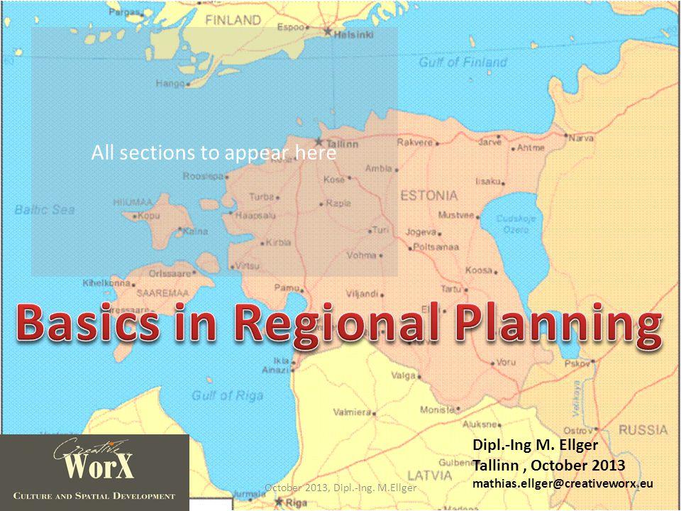 Type of Plans 32October 2013, Dipl.-Ing. M.Ellger