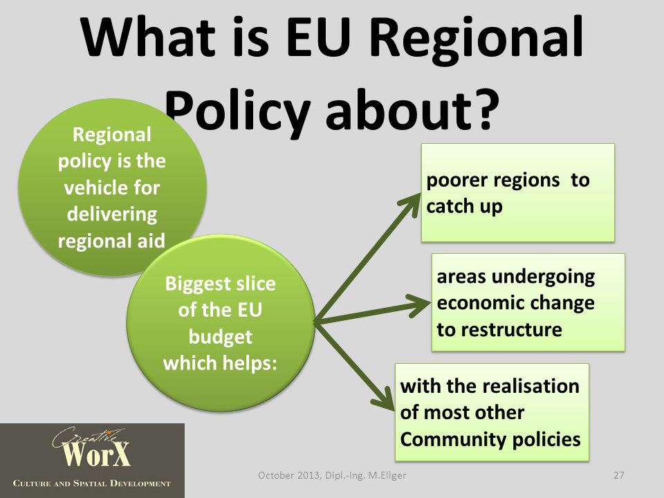What is EU Regional Policy about.