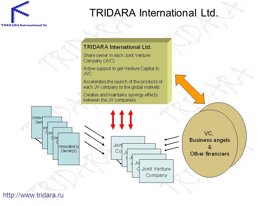 TRIDARA International Ltd. http://www.tridara.ru