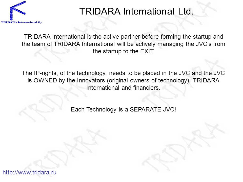 TRIDARA International Ltd.