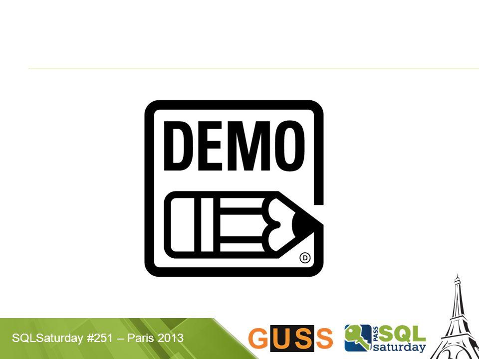 SQLSaturday #251 – Paris 2013