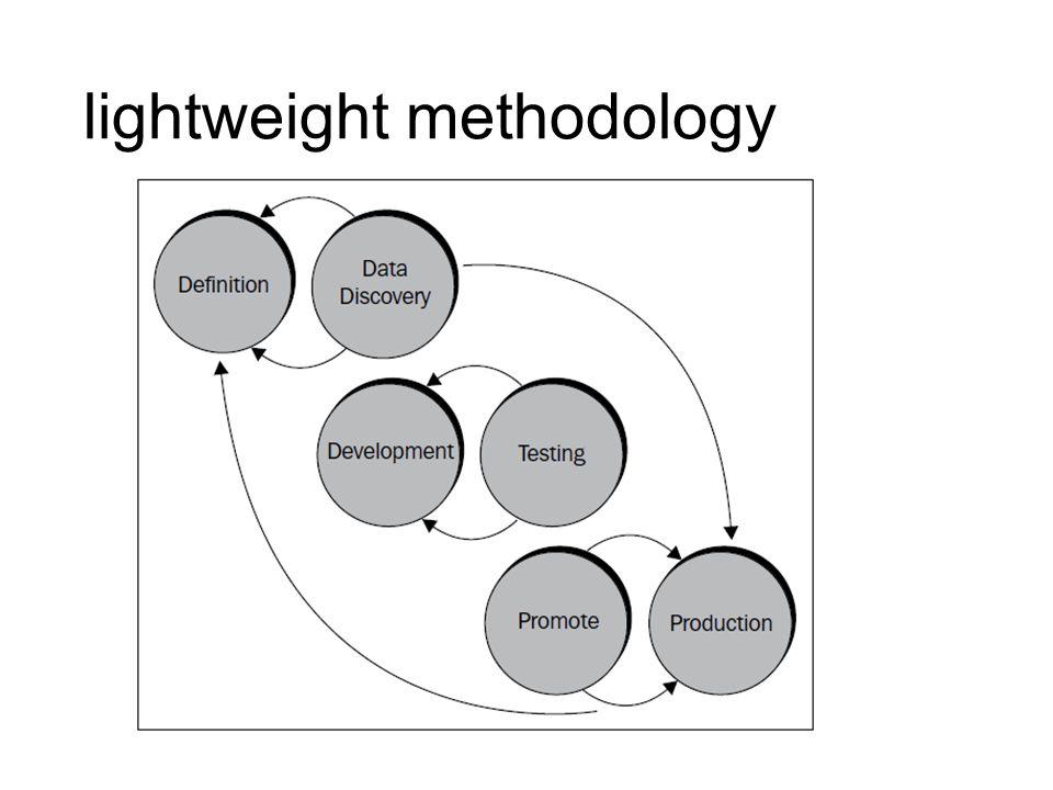 lightweight methodology