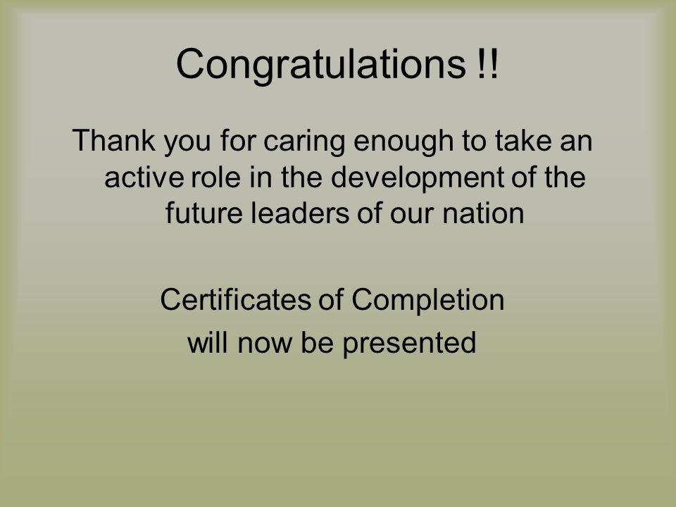 Congratulations !.