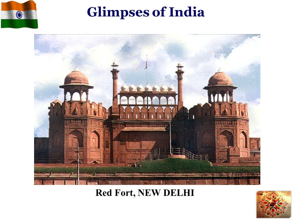 Red Fort, NEW DELHI Glimpses of India