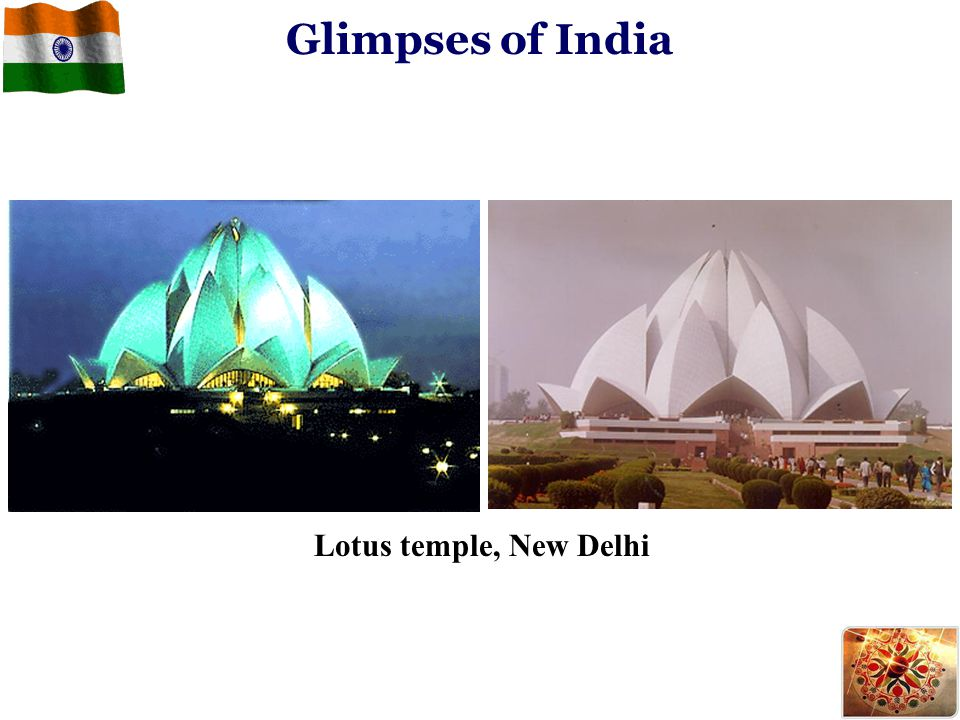 Lotus temple, New Delhi Glimpses of India