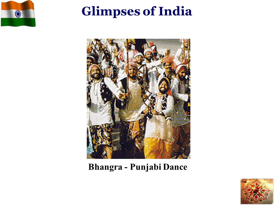 Bhangra - Punjabi Dance Glimpses of India