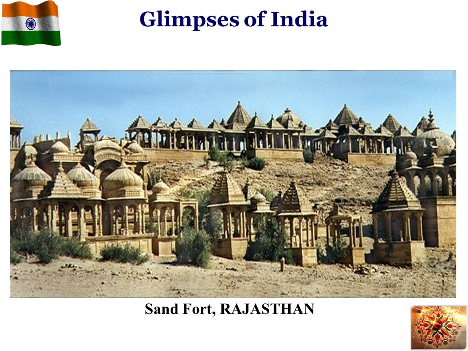 Sand Fort, RAJASTHAN Glimpses of India
