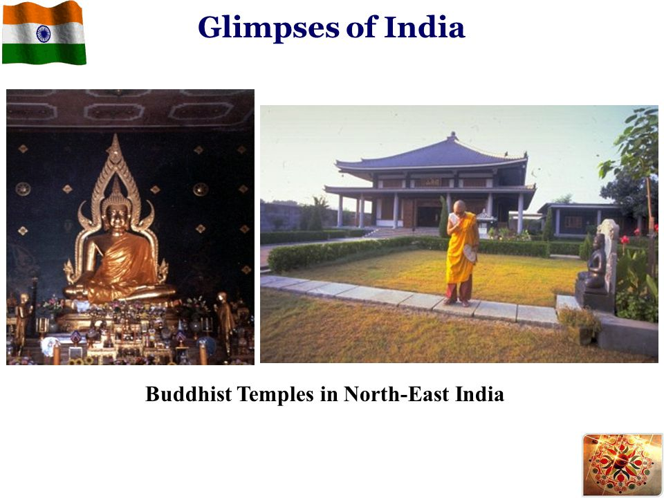 Buddhist Temples in North-East India Glimpses of India