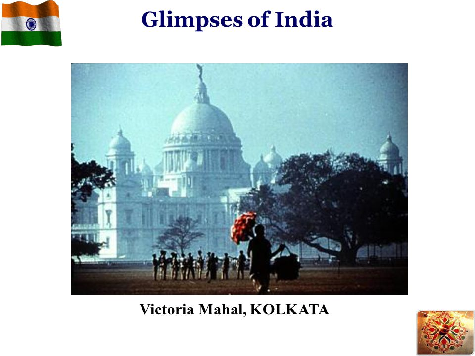 Victoria Mahal, KOLKATA Glimpses of India