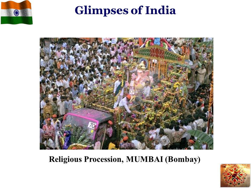 Religious Procession, MUMBAI (Bombay) Glimpses of India
