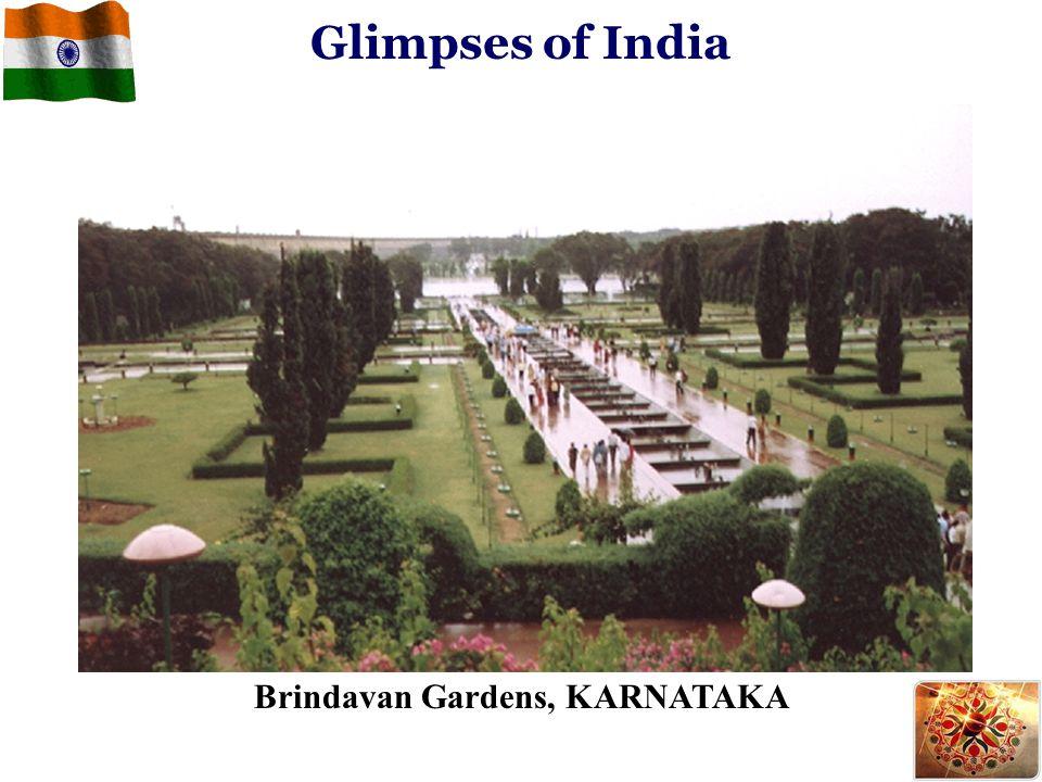 Brindavan Gardens, KARNATAKA Glimpses of India