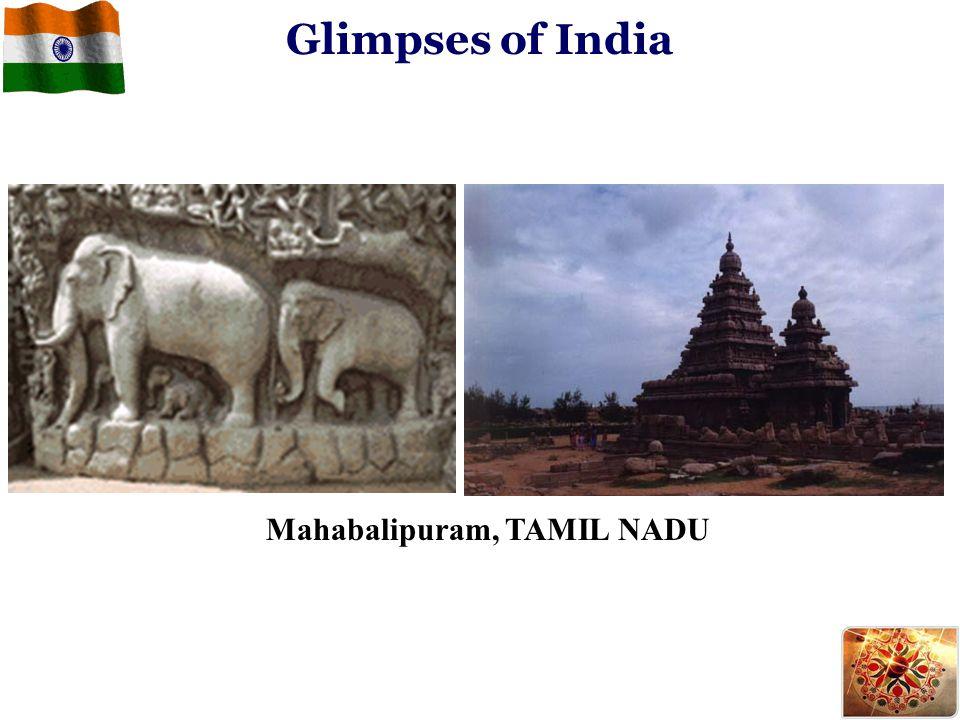 Mahabalipuram, TAMIL NADU Glimpses of India