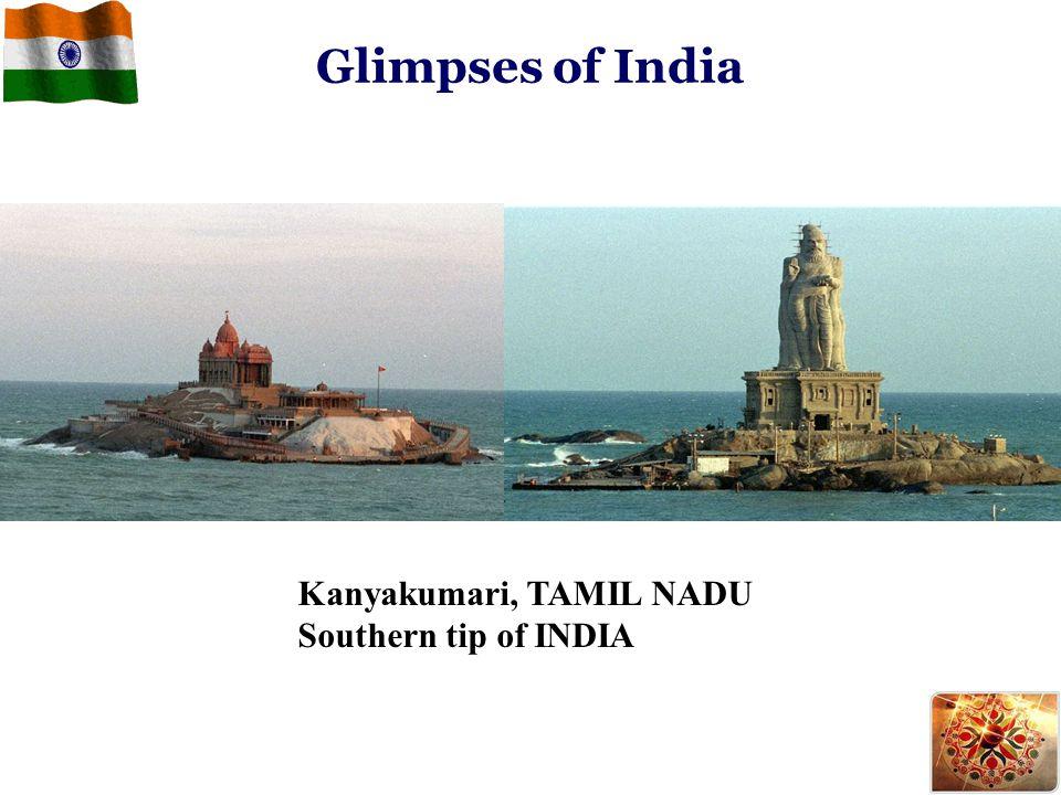 Kanyakumari, TAMIL NADU Southern tip of INDIA