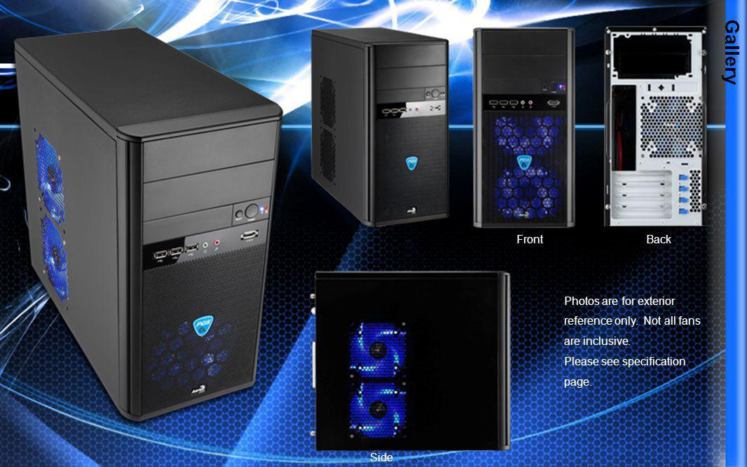 Features - High performance Mini -Tower for gamers and enthusiast - Solidly constructed chassis - 0.6mm SECC Japanese Steel - High-end Graphic card Support - Supports longer high-end VGA cards up to 340mm - High versatility - Supports 2 x 3 1/2 HDDs or 3 x 2 1/2 HDDs - HDD Protection - Includes anti-vibration rubber to protect your HDDs from shock.