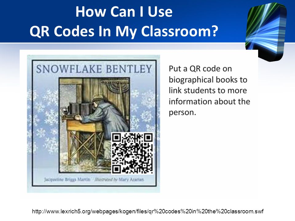 How Can I Use QR Codes In My Classroom.