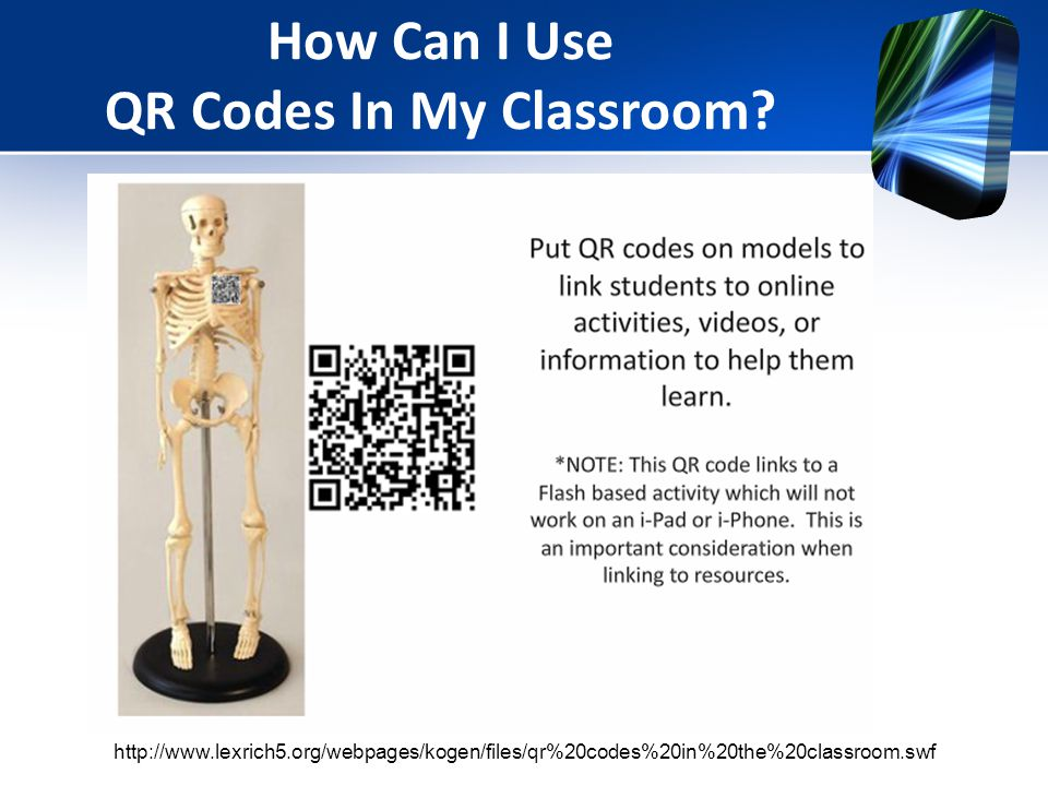 http://www.lexrich5.org/webpages/kogen/files/qr%20codes%20in%20the%20classroom.swf