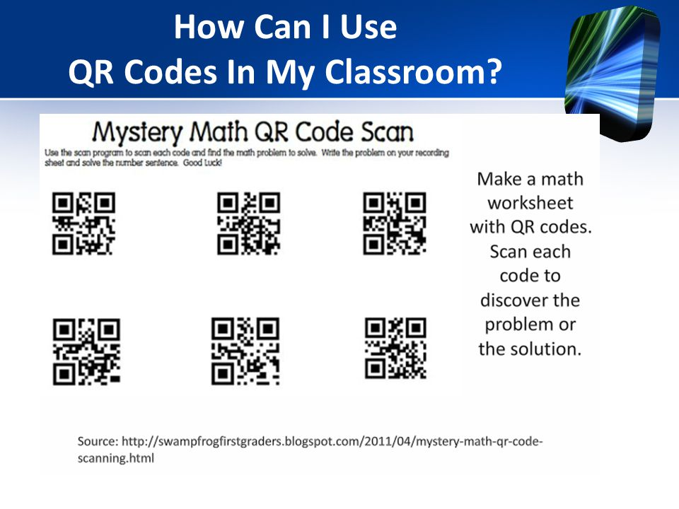 How Can I Use QR Codes In My Classroom?