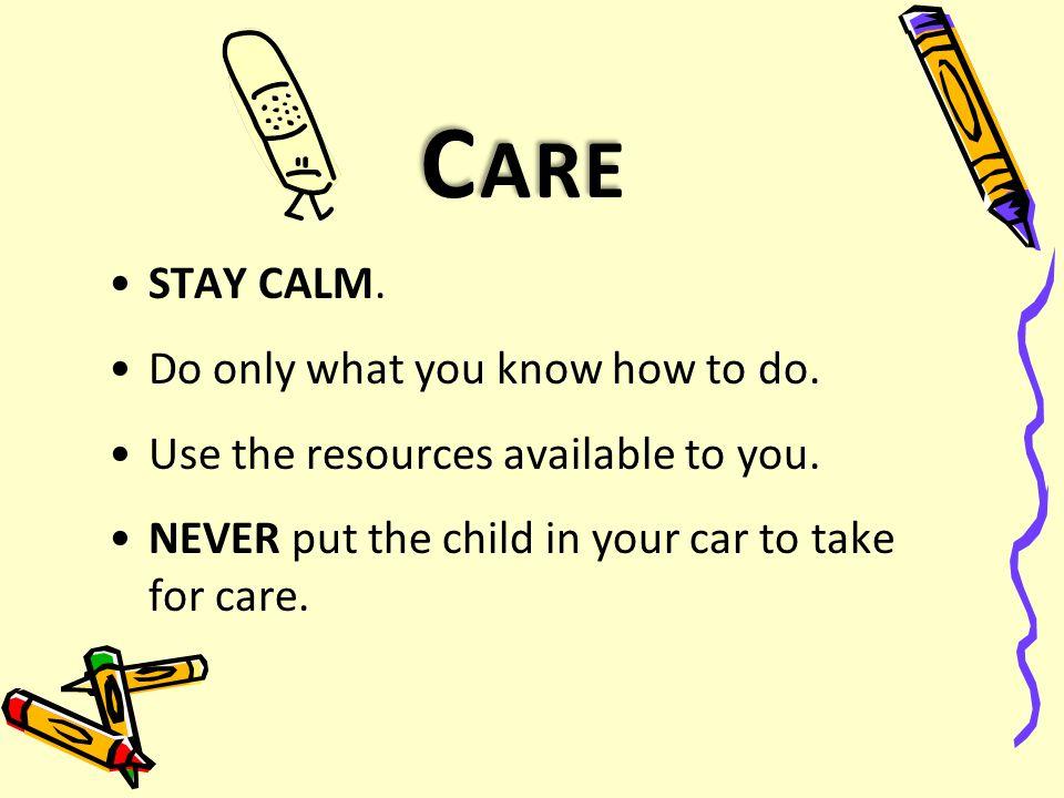 C ALL ( CONT ' D ) Parent Principal / Educational Field Coordinator Early Childhood Nurse