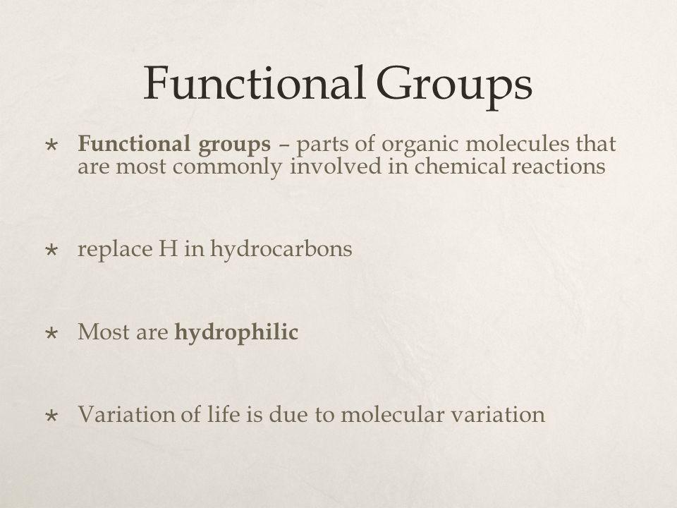 Macromolecules  Huge biological molecules.