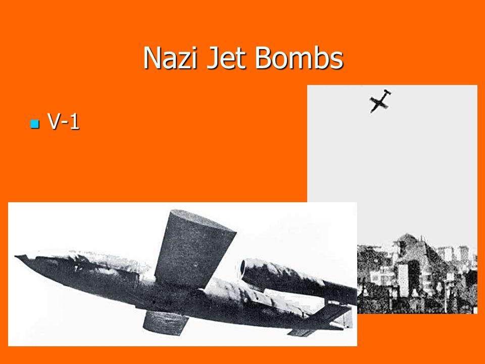 Nazi Jet Bombs V-1 V-1