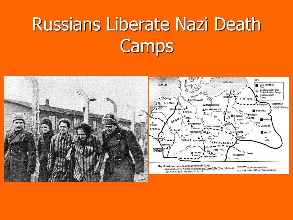Russians Liberate Nazi Death Camps