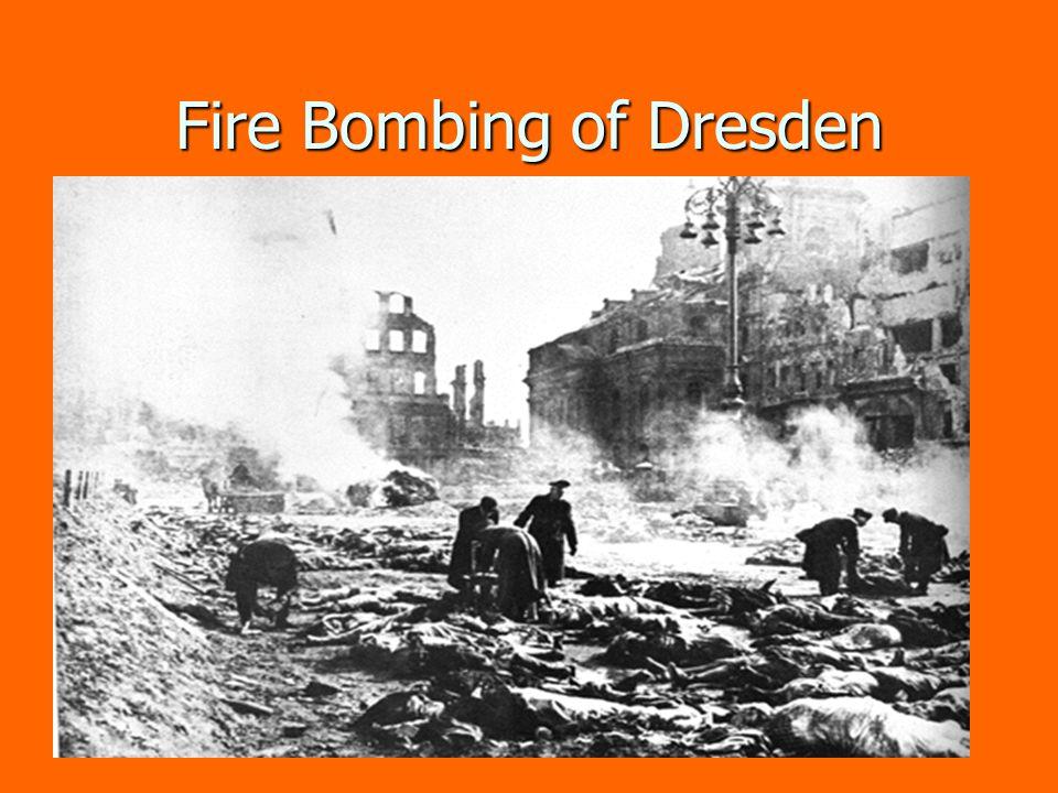 Fire Bombing of Dresden