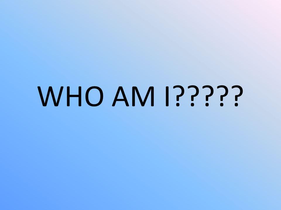 WHO AM I?????