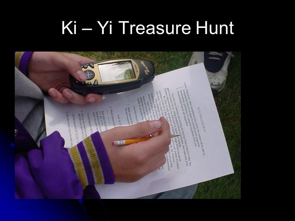 Ki – Yi Treasure Hunt