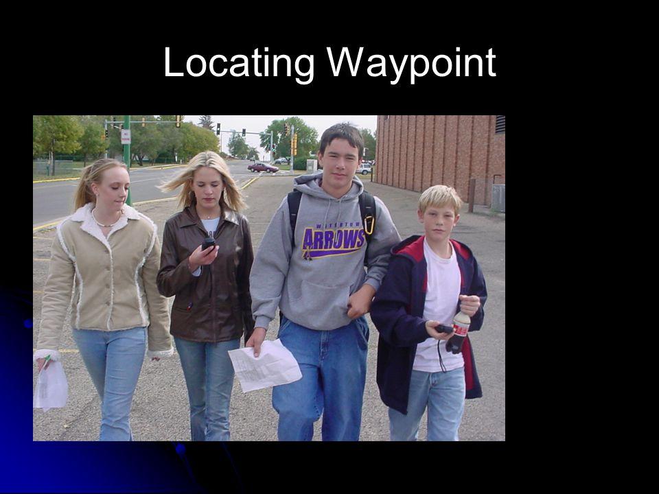 Locating Waypoint