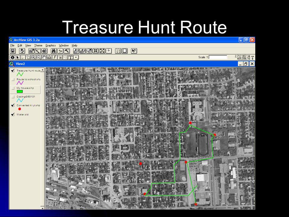 Treasure Hunt Route