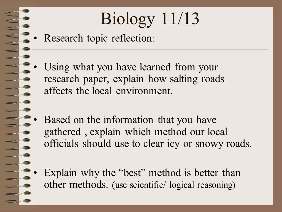 biology term paper ideas Therefore the best way to decide on biology research topics is to explore the various fields or choose one from your prescribed textbook criteria for choosing good topics writing a biology term paper or research paper might not be as difficult as deciding on an appropriate or interesting topic.
