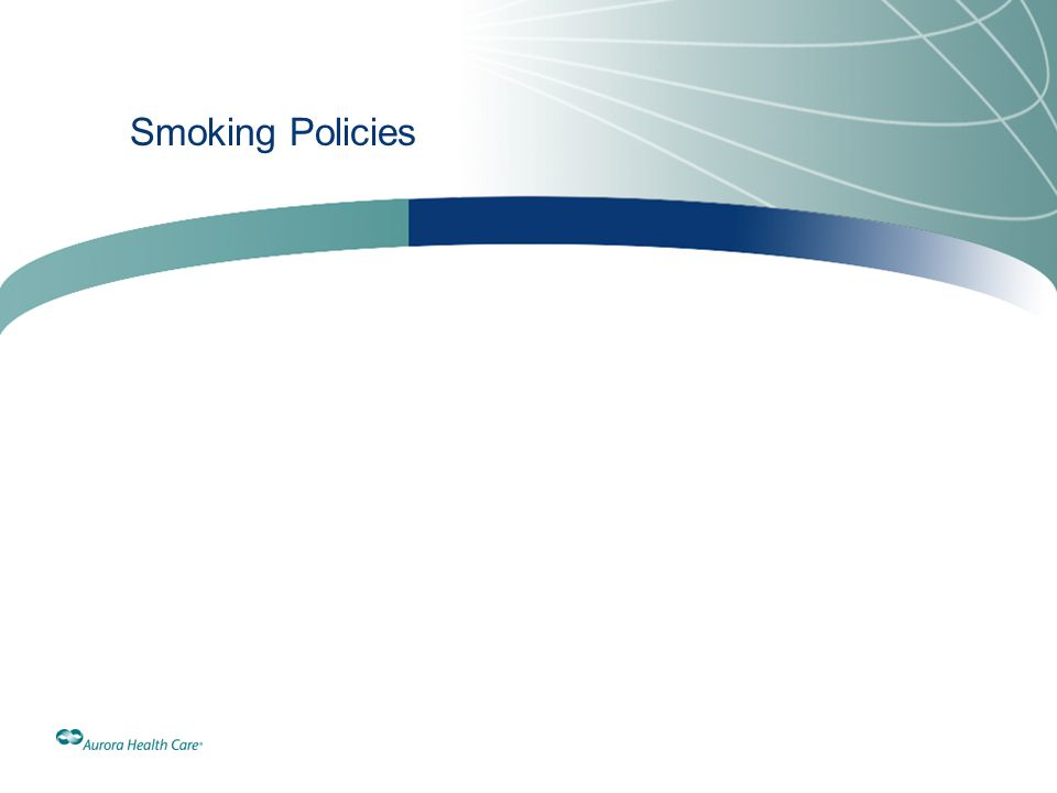 Smoking Policies