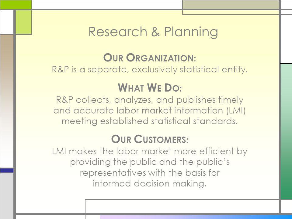 Research & Planning's Website (http://doe.state.wy.us/LMI) P. Ellsworth, DOE R&P, 5/17/2007
