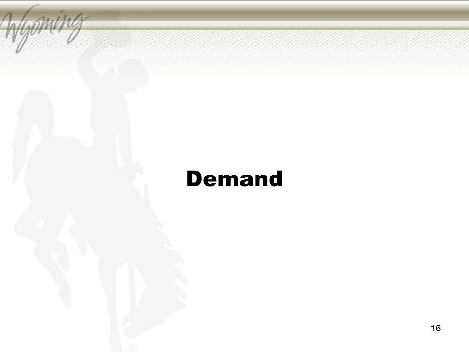 Demand 16