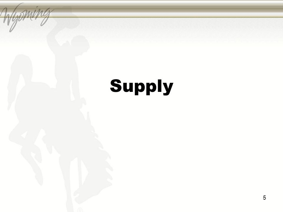Supply 5