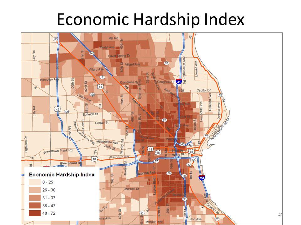 Economic Hardship Index 41
