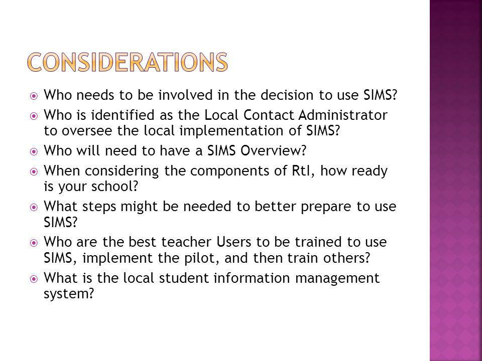  How is the local student information management system already warehousing what types of student data.